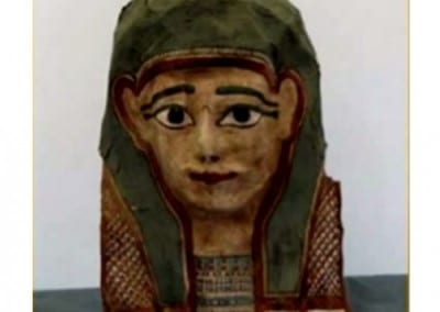 How does the Gospel of Mark become part of a Mummy?