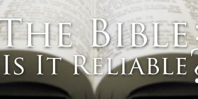 What did Jesus say about the reliability of the Bible?