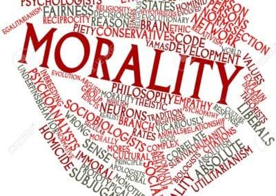 Morality defeats naturalism