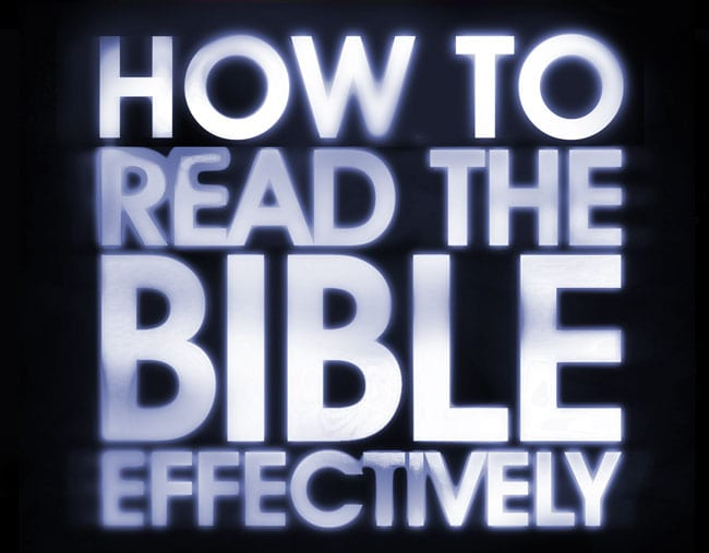 Personal Application: 5 Ways to Read the Bible