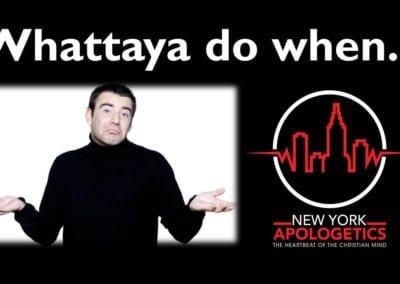 Why is God Hidden? | Whattaya Do?