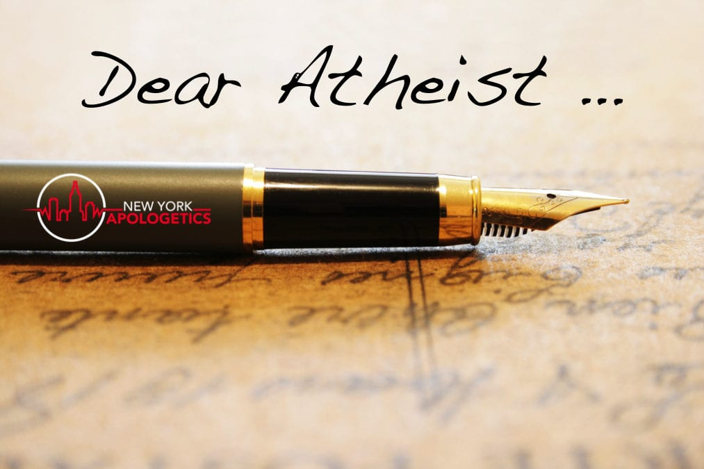 Dear Atheist – Agnosticism?