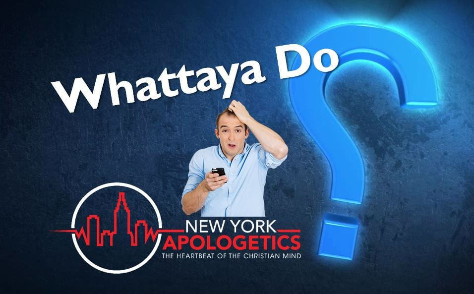 Atheist says Jesus was wrong about adultery | Whattaya Do?