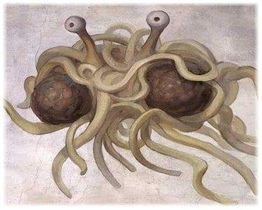 Flying Spaghetti Monster Speaks!