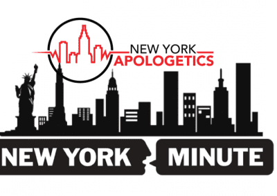 The Relation of God to Morality: NY Minute Monday