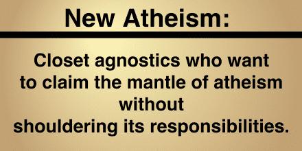 New Atheists:Closet