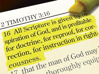 The Doctrine of Scripture: terms