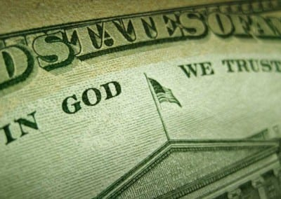 "Lawsuit Threatens ""In God We Trust"""