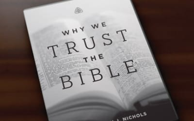 When Someone says the Bible can't be Trusted.