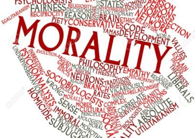 Morality defeats naturalism