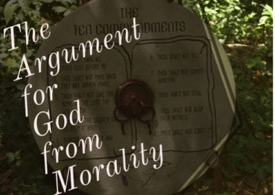 The Argument for God from Morality