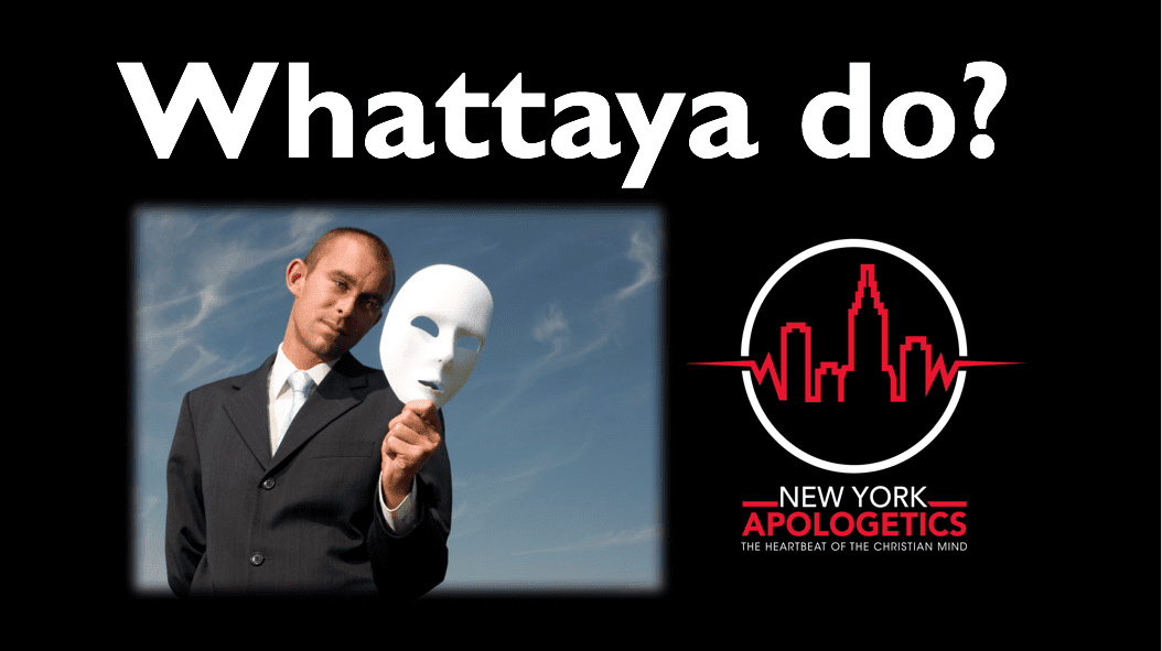 Christians are Hypocrites | Whattaya Do?
