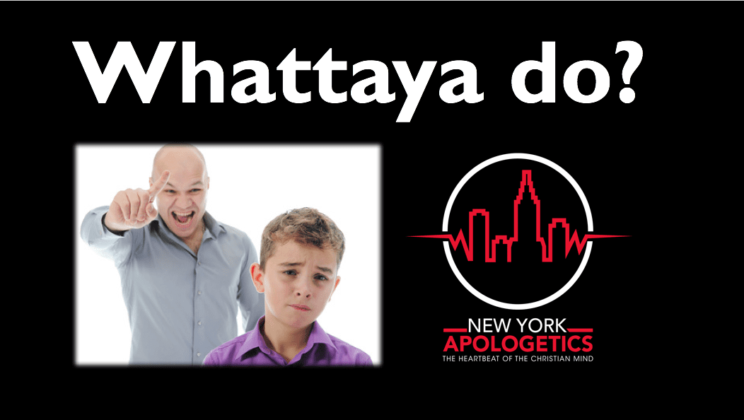 Cosmic Child Abuse! | Whattaya Do?