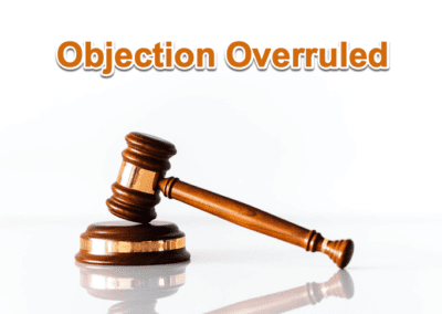 Objection Overruled
