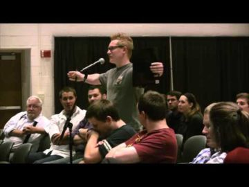 What Do You Mean By Evolution? Frank Turek Explains at Wright State University